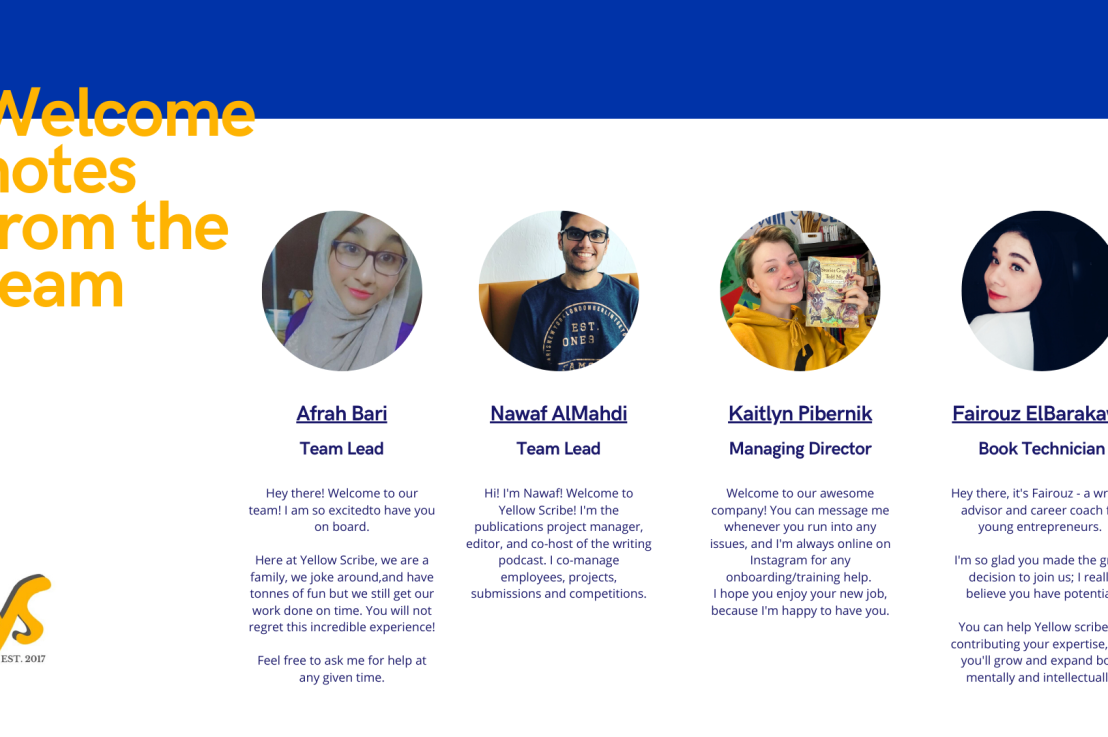 Yellow Scribe's team is like noother…