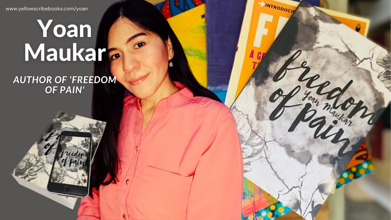 "Yoan Maukar publishes debut poetry book ""Freedom of Pain"" with Yellow Scribe"